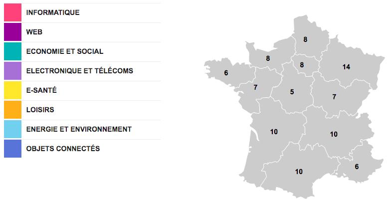 100 pépites numériques partout en France