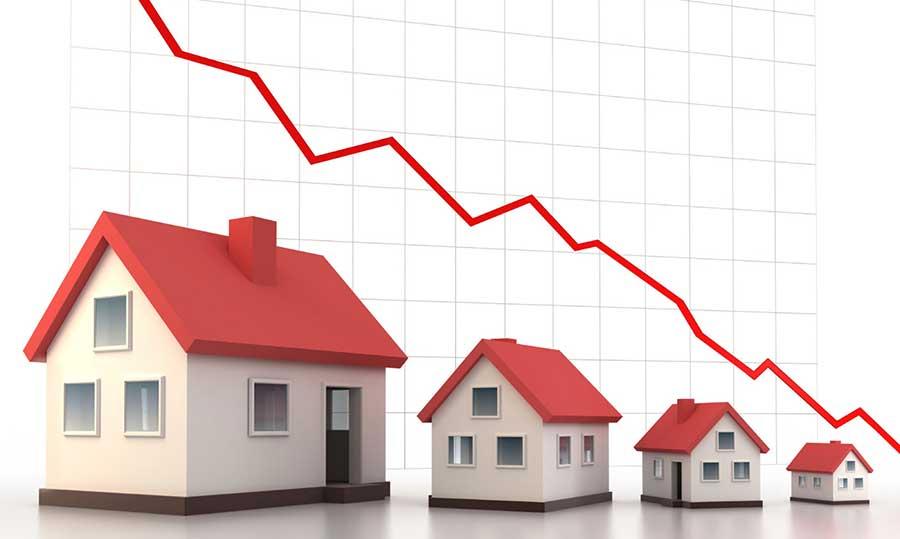 6 villes où le prix de l'immobilier à baisser en 2016