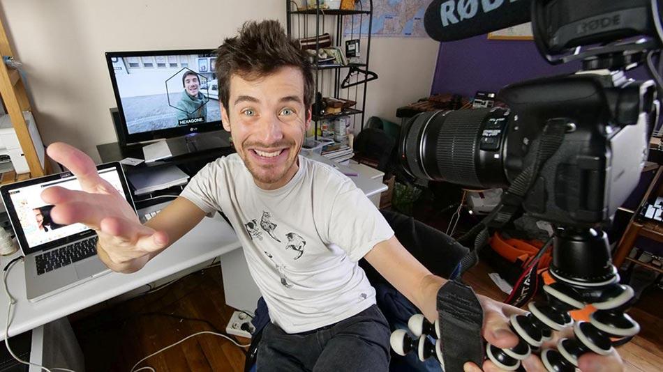 Websérie Hexagone : road trip d'un youtubeur dans nos villes (méconnues) en région