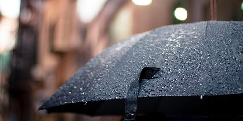Climat pluvieux : les départements à éviter