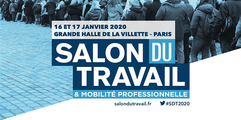 Salon du Travail et Mobilité Professionnelle, les 16 et 17 janvier à Paris