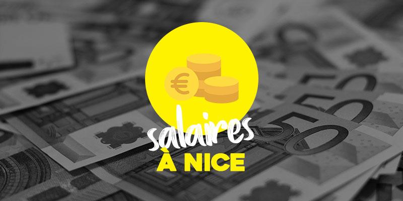 Les salaires et le marché de l'emploi à Nice