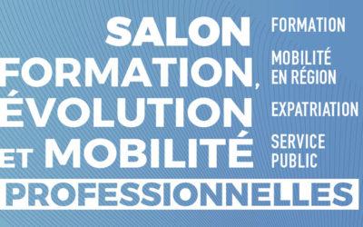 Salon virtuel «Formation, évolution et mobilité professionnelles», du 7 au 18 avril